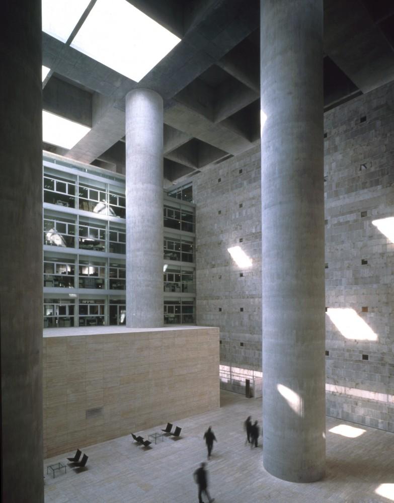 Galer a cl sicos de arquitectura caja granada for Caja de granada oficinas