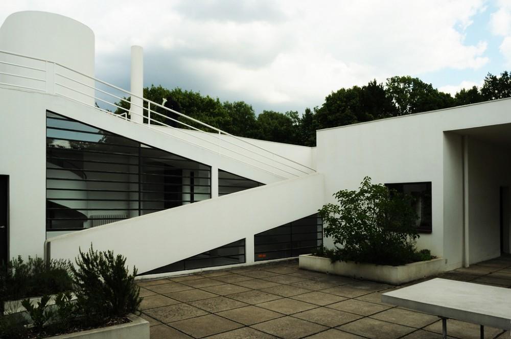 Galer a cl sicos de arquitectura villa savoye le - Casas de le corbusier ...