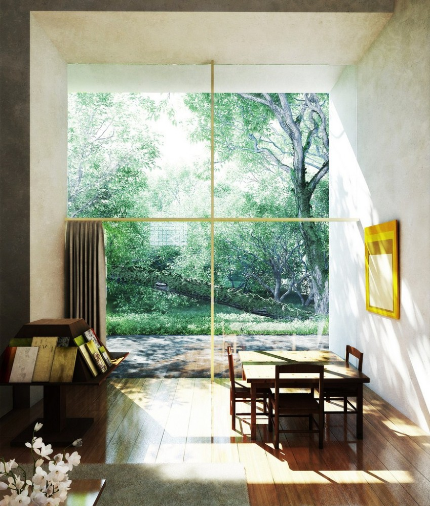 Galer a cl sicos de arquitectura casa estudio luis for Estudios de arquitectura bogota