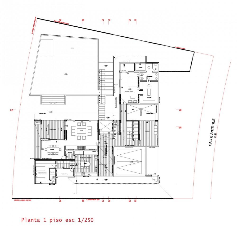 Galer a casa concepci n elton leniz arquitectos 1 - Planos de arquitectos ...