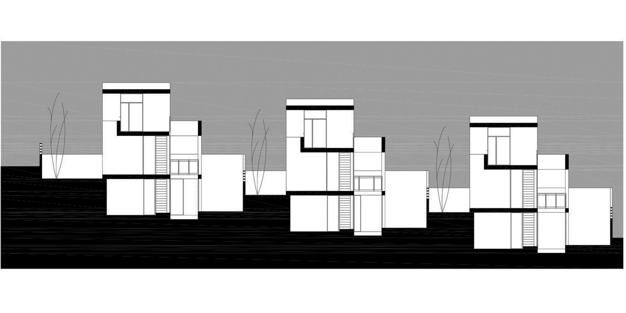 Galer a 6 viviendas unifamiliares de santa b rbara - Proyectos casas unifamiliares ...