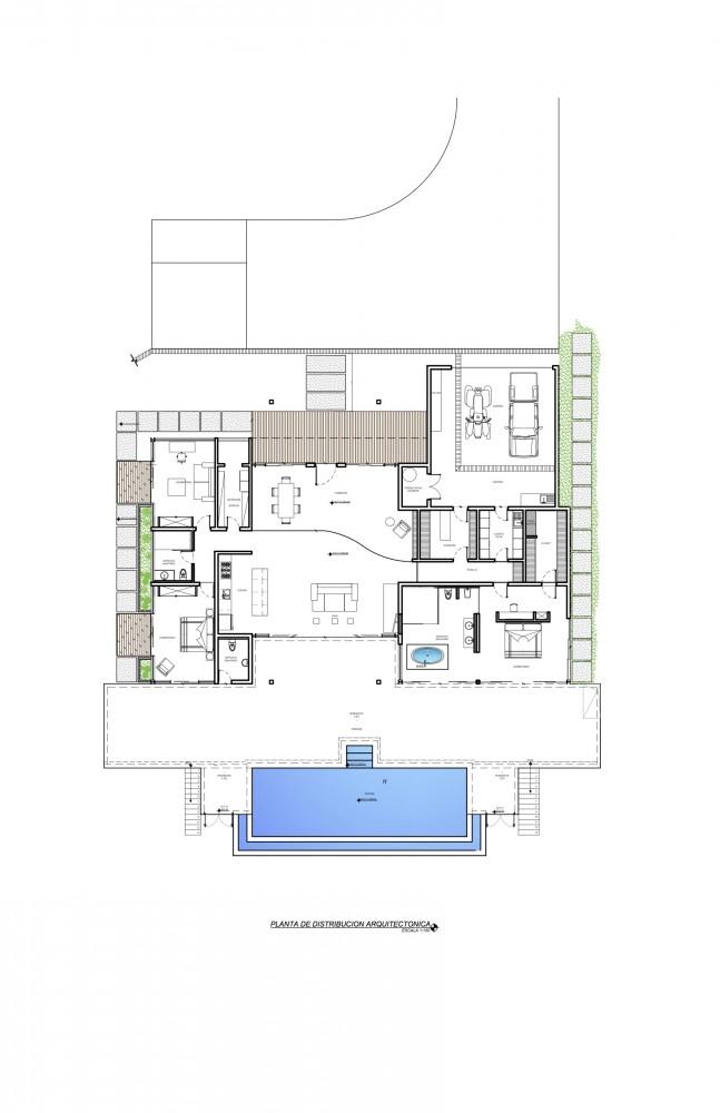Galer a casa mecano roblesarq 1 for Planta arquitectonica biblioteca