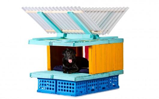 Casas para perro Dogchitecture Laboratorio Arquitectura Básica