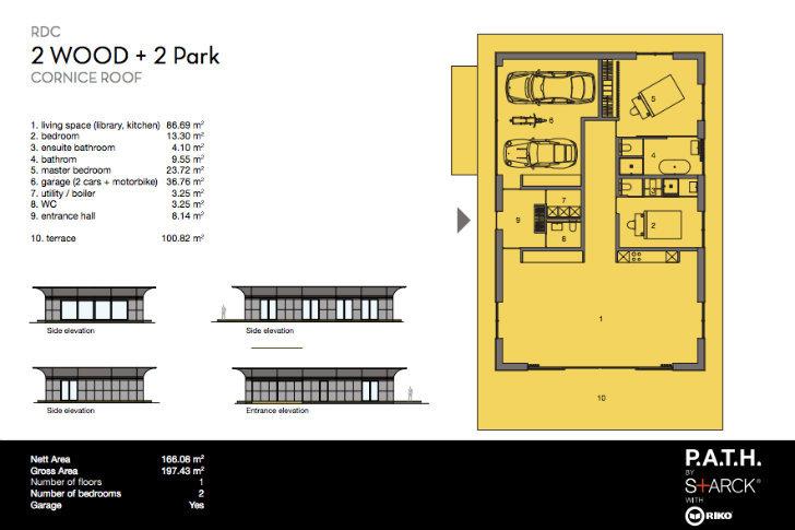 Galer a philippe starck revela su proyecto de casas for Proyectos de casas ecologicas