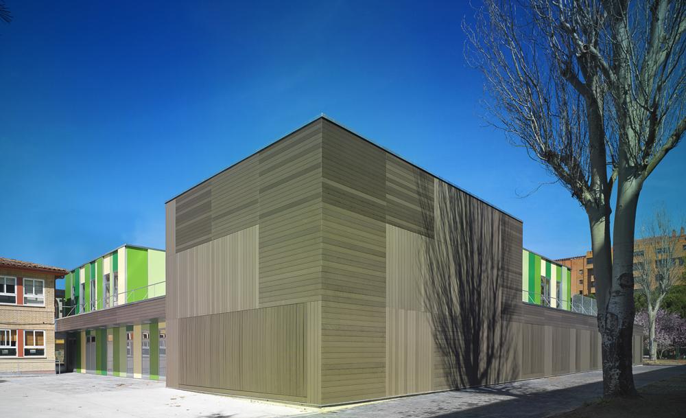 Galer a ampliaci n del colegio de educaci n especial - Colegio arquitectos leon ...