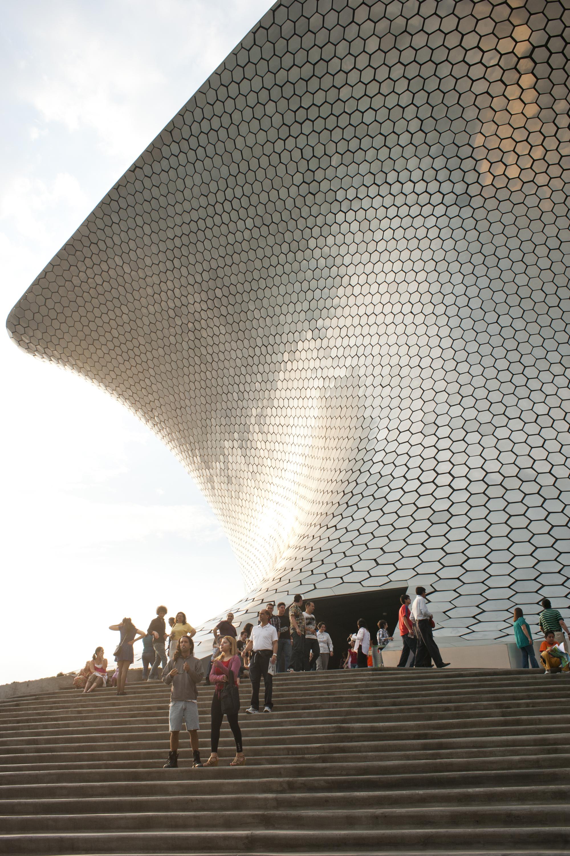 Soumaya Museum in Miguel Hidalgo, Mexico City, Mexico.